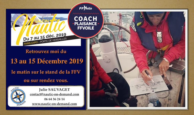nautic on demand coach nautique au salon nautic du 13 au 15 décembre 2019